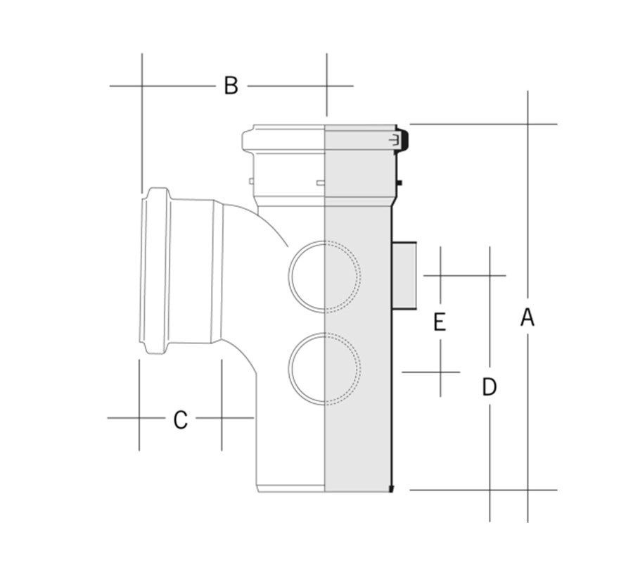 Pipe Branch Connection Table